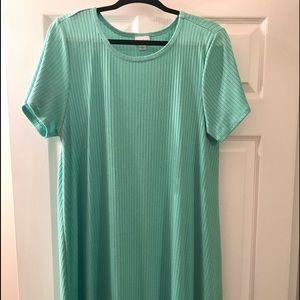 LuLaRoe Dresses - LuLaRoe Carly Mint Lg. Beautiful NWOT